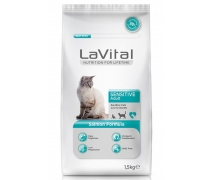 La Vital Cat Adult Sensitive Salmon 1,5kg
