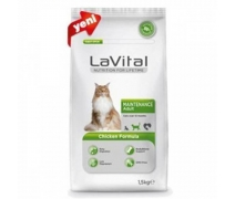 La Vital Cat Maintenance Adult Chicken Formula Yetişkin Kedi Maması 1.5Kg
